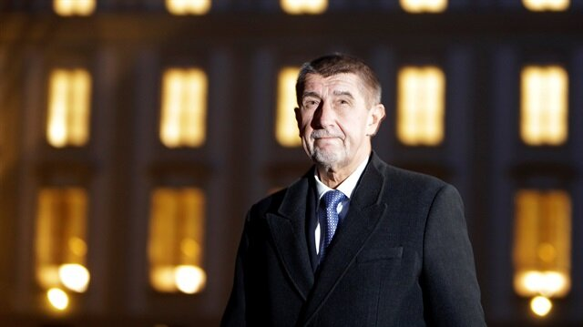 The leader of ANO party Andrej Babis