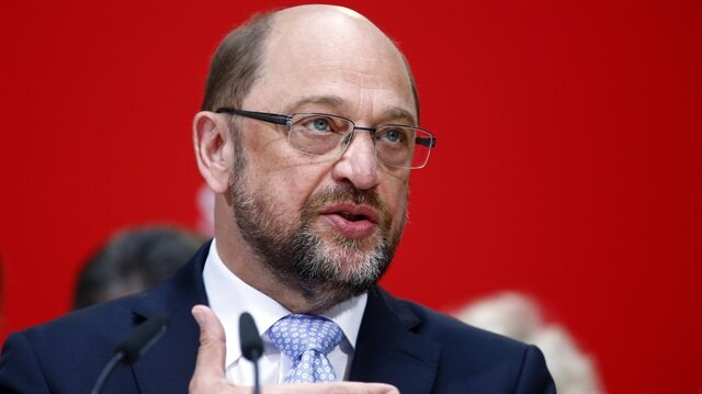 Martin Schulz, the leader of Germany's Social Democrats (SPD)