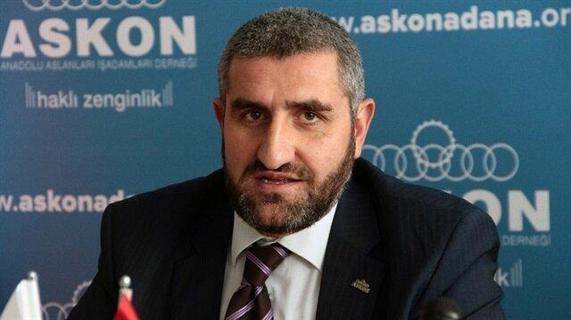 (ASKON) Adana Şube Başkanı Recep Çalışkan, Kudüs ile ilgili açıklamalarda bulundu.