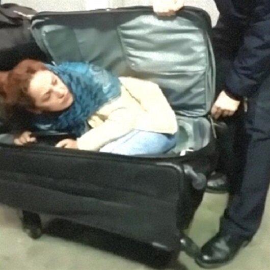 Valiz içinde Türkiye'ye girecekti