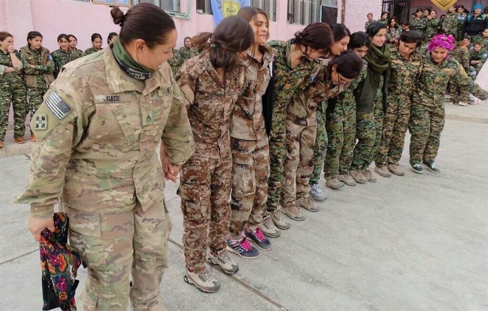 Turkey condemns US' PKK/PYD-led army plan in Syria ile ilgili görsel sonucu