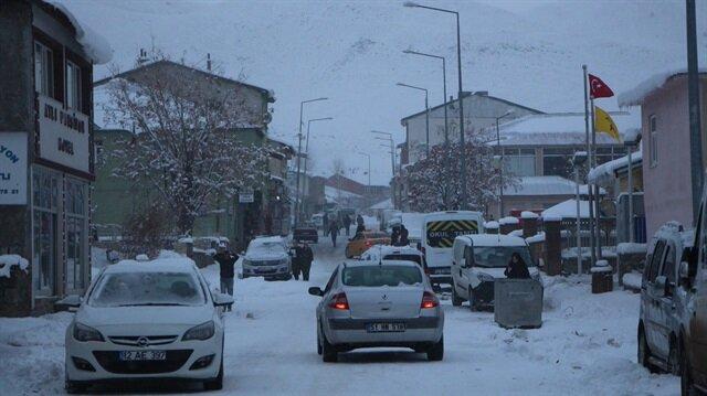 Bingöl'de 26 köy yoluna ulaşım sağlanamıyor