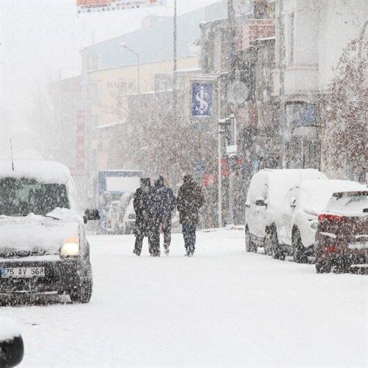 Ardahan'da 9 köy yoluna ulaşım sağlanamıyor