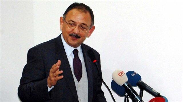 Çevre ve Şehircilik Bakanı Mehmet Özhaseki Bitlis'te