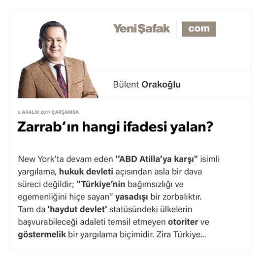 Zarrab'ın hangi ifadesi yalan?