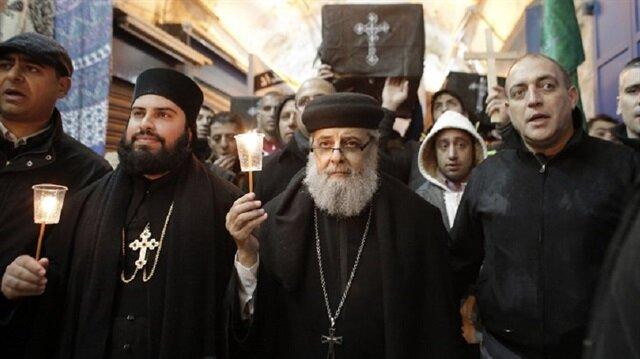 Kudüs'teki Hristiyan din adamlarından Trump'a 'vazgeç' çağrısı