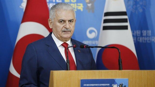 Turkish PM Binali Yıldırım