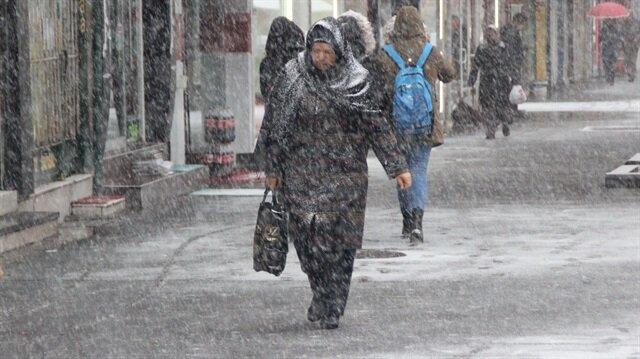 Meteorolojiden İstanbul ve birçok ile kar yağışı uyarısı