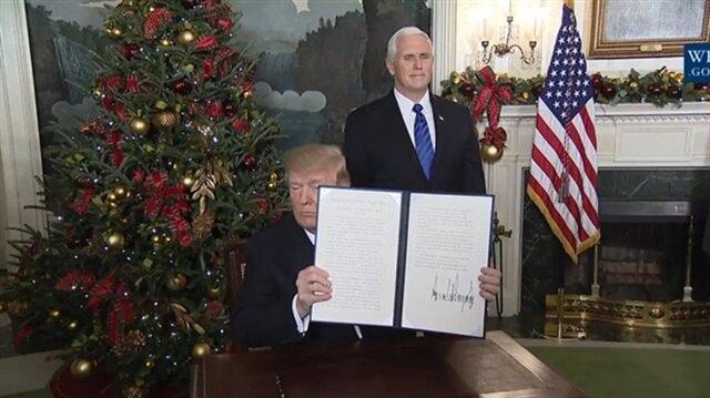 ترامب يعترف رسميا بالقدس عاصمة لإسرائيل