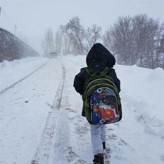Nevşehir'de okullar yarın tatil edildi