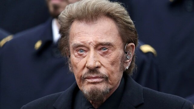 French singer Johnny Hallyday