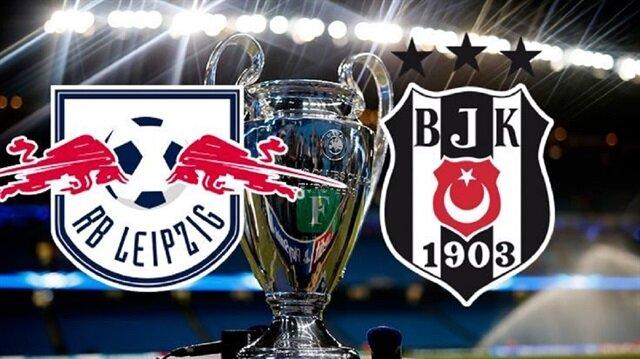 Şampiyonlar Ligi'nde bu akşam Leipzig kendi sahasında Beşiktaş'ı ağırlayacak.