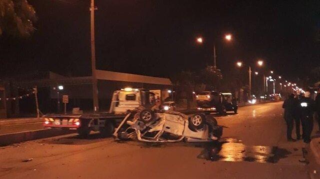Mersin'de meydana gelen trafik kazasında karı koca hayatını kaybetti.