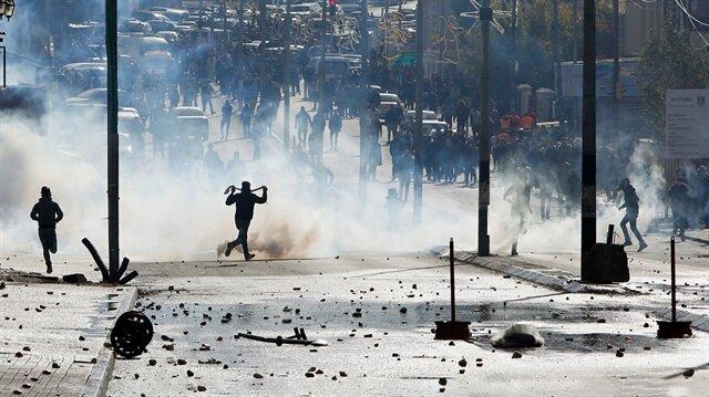 Filistin'de çatışma çıktı: Yaralılar var