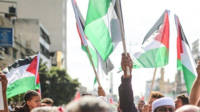 Protest against Israeli blockade in Gaza