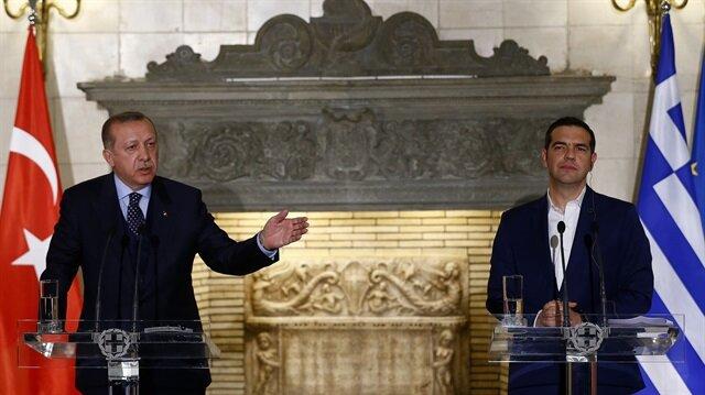 Cumhurbaşkanı Erdoğan'dan Çipras'a Kıbrıs dersi