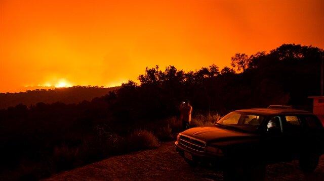 California'da orman yangını yayılıyor