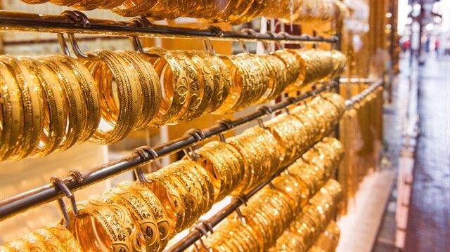Altın fiyatlarında düşüş var.