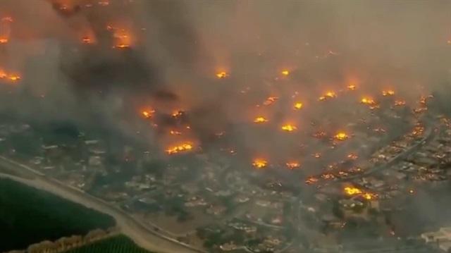 ABD yanıyor