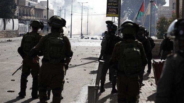 İşgalci İsrail askerleri Filistinlilere saldırdı: 9 yaralı