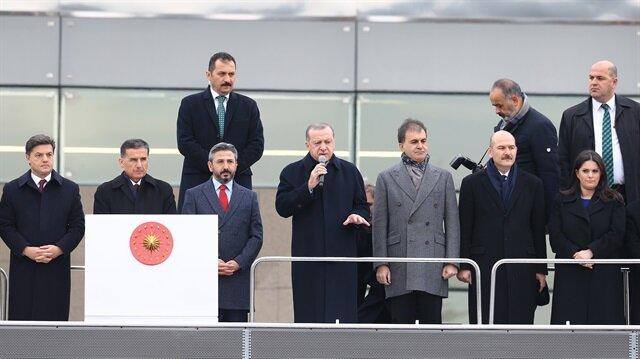 أردوغان: القدس أولى القبلتين بالنسبة للمسلمين واتخاذ خطوات خاطئة قد يجر المنطقة إلى وسط النار