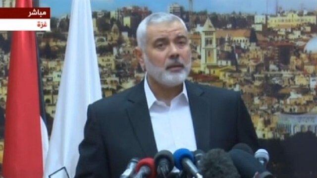 هنية: نطالب برفع العقوبات عن غزة ووقف التنسيق الأمني مع إسرائيل