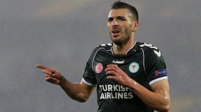 Mehdi Bourabia'nın gol sevinci.