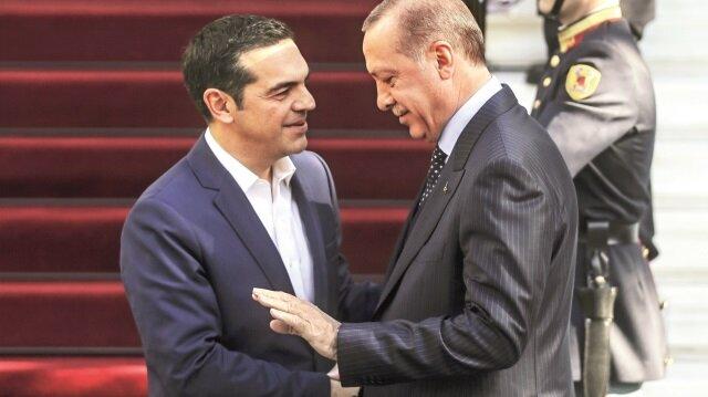Erdoğan ve Çipras ortak basın toplantısı düzenledi