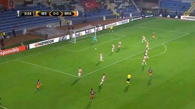 Medipol Başakşehir 2-1 Sporting Braga (Maç Özeti)
