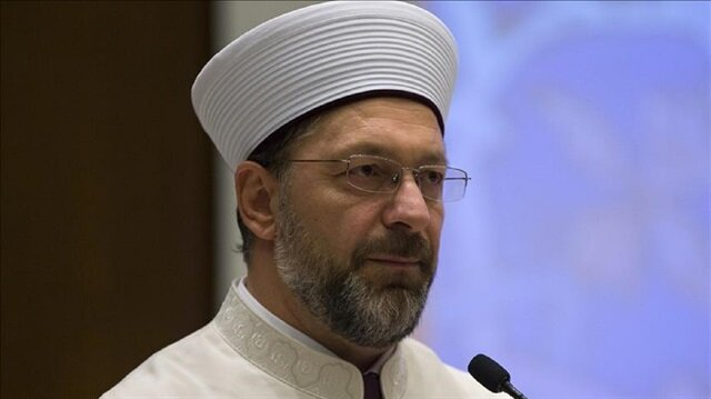 President of the Directorate of Turkey's Religious Affairs Ali Erbas