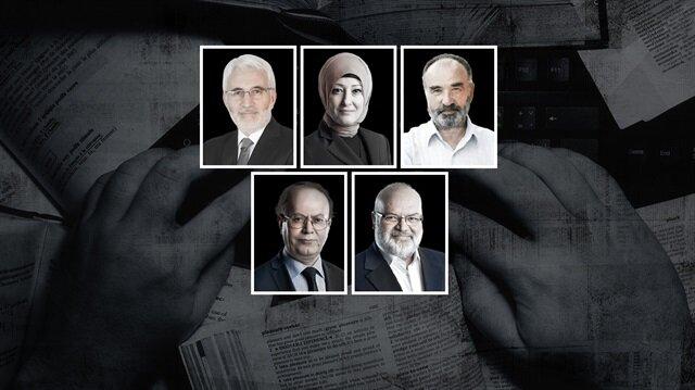 Hasan Öztürk, Özlem Albayrak, Hayrettin Karaman, Yusuf Kaplan, Ömer Lekesiz