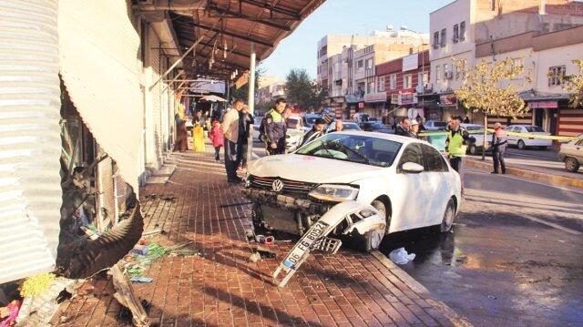 Olayın ardından otomobil sürücüsü gözaltına alındı.