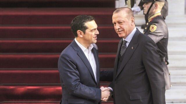 Cumhurbaşkanı Erdoğan ve Yunanistan Başbakanı Çipras görüşmesinde de ekonomik ilişkilerin artırılması için yapılması gerekenler konuşuldu.