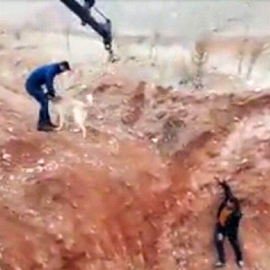 Maden işçilerinden örnek hareket