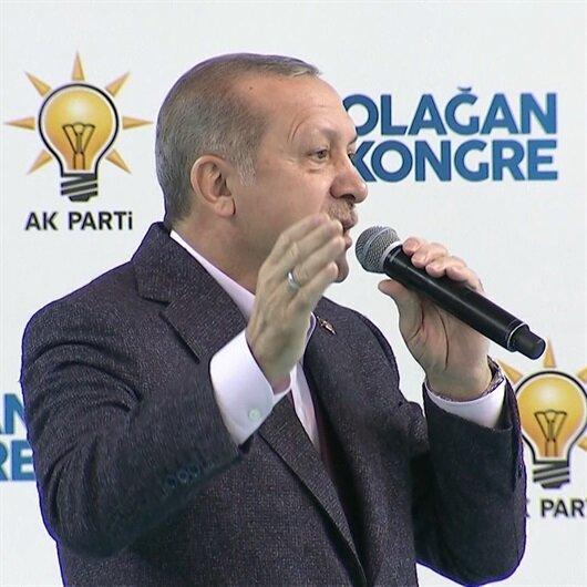 Cumhurbaşkanı Erdoğan 'Kudüs' şiirini okudu