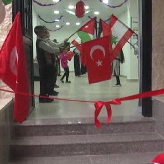 """جمعية تركية تفتتح روضة """"براعم الأقصى"""" في مخيم فلسطيني ببيروت"""