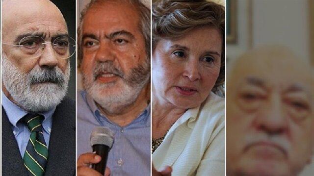 Nazlı Ilıcak, Ahmet Altan, and Şükrü Tuğrul Özşengül