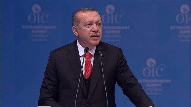 Erdoğan calls on all countries to recognize Jerusalem as Palestine's capital