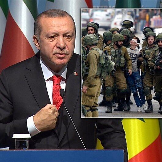 Kudüs zirvesi sonrası Erdoğan'dan tarihi konuşma
