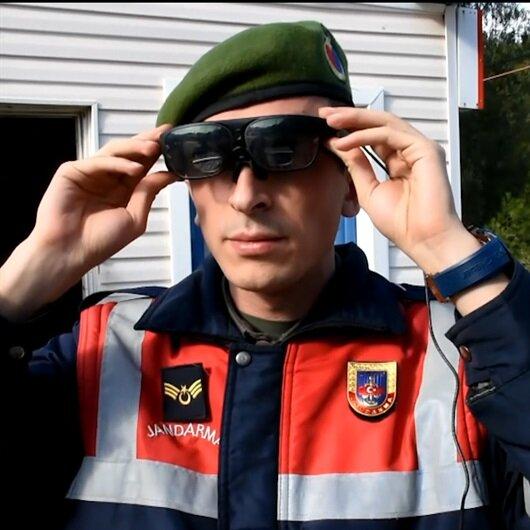 Jandarma'nın yüz tanıyan yeni gözlüğü 'takbul'