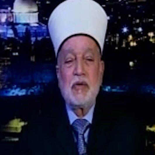 Eski Kudüs Müftüsü Sabri Erdoğan'a teşekkür etti