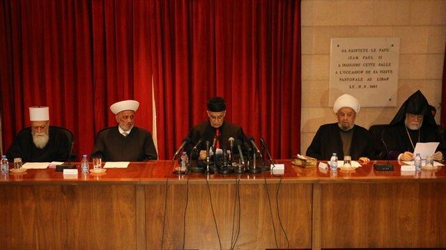 Lübnan'da Müslüman ve Hristiyan din adamlarından Kudüs Zirvesi