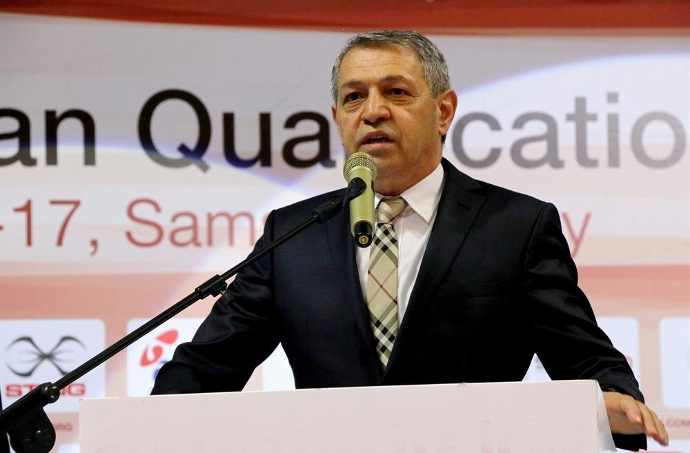 Türkiye Boks Federasyonu Başkanı Eyüp Gözgeç