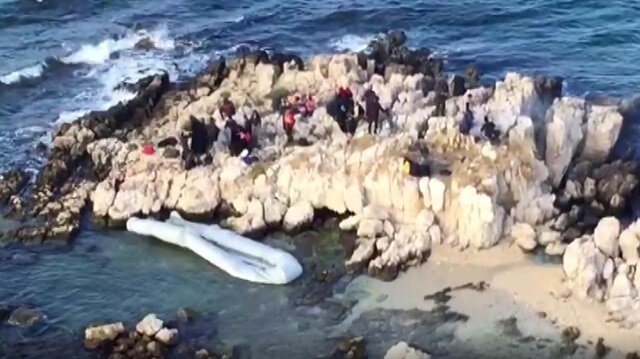 Rescue op saves for migrants stranded at sea