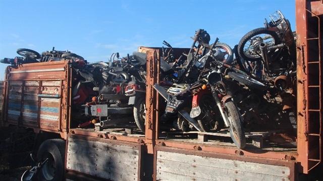 Otoparkımızda binin üzerinde motosiklet, 500'ün üzerinde otomobil bulunuyor.