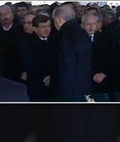 Cenazede soğuk rüzgarlar!