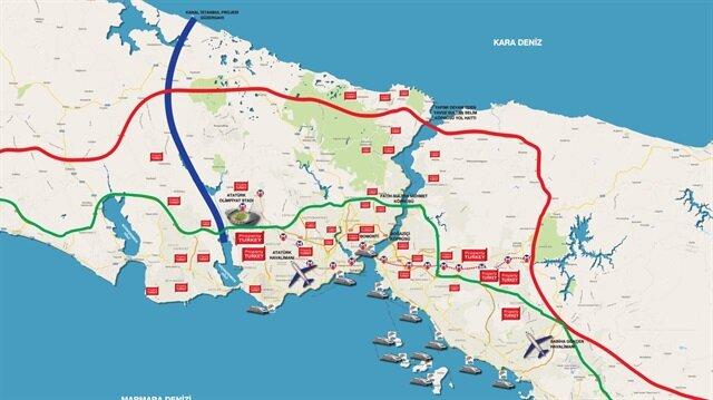 Kanal İstanbul'un kesinleştiği ifade edilen güzergahı yalanlandı.
