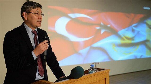 Kazakistan'ın Ankara Büyükelçisi Saparbekulı açıklama yaptı.