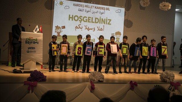 Suriyeli yetimler için etkinlik düzenlendi