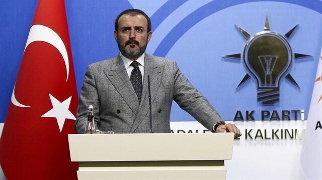 AK Parti Genel Başkan Yardımcısı ve Sözcüsü Mahir Ünal